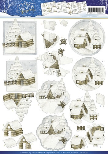 Marieke Design CD 10576 - Winter Wonderland -