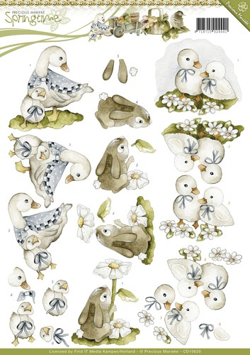 CD 10620 - Precious Marieke - Springtime - Animals