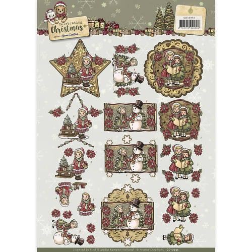 Yvonne Creations CD 10955 Celebrating Christmas