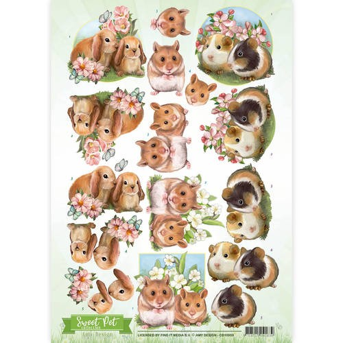 Amy Design CD 10959 Sweet Pet`s
