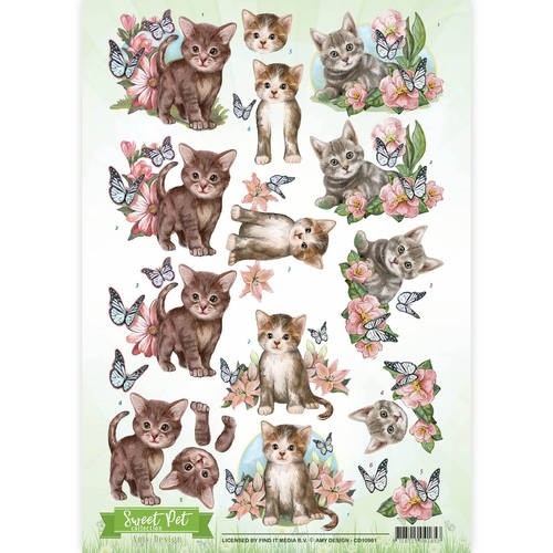 Amy Design CD 10961 Sweet Pet`s