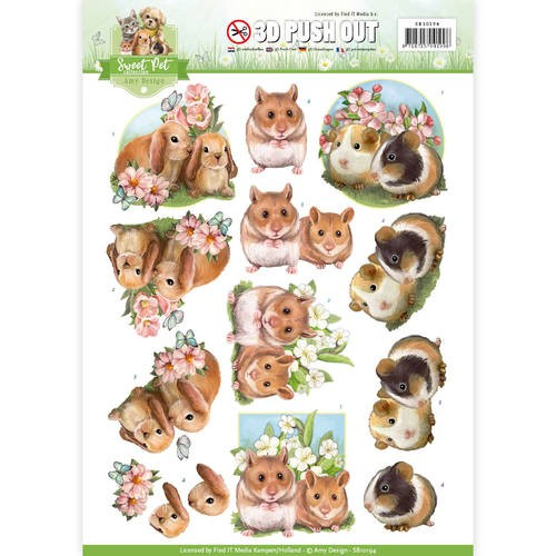 Amy Design SB 10194 - Sweet Pet`s