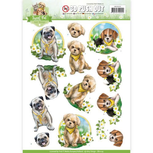 Amy Design SB 10195 - Sweet Pet`s