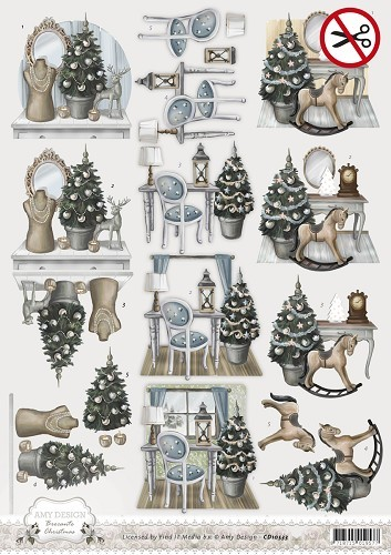 Amy Design - SB 10052 - Brocante Christmas