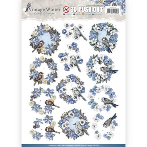 Amy Design - SB 10213 - Vintage Winter