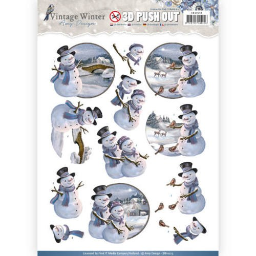 Amy Design - SB 10214 - Vintage Winter