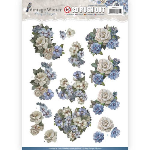 Amy Design - SB 10216 - Vintage Winter