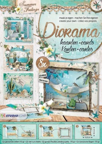 Diorama stanblok A4 - Summer Feelings