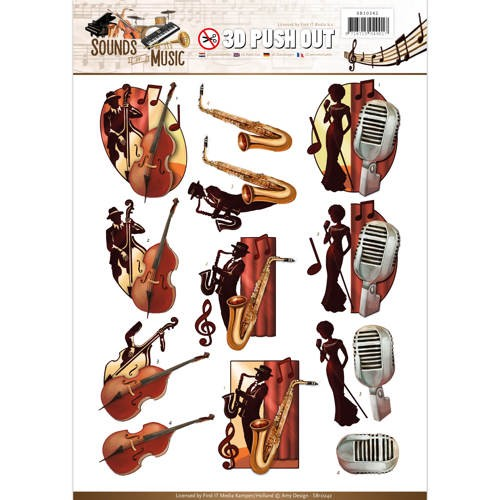 Amy Design - SB 10242 - Sounds of Music - Jazz