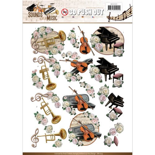 Amy Design - SB 10243 - Sounds of Music - Classic