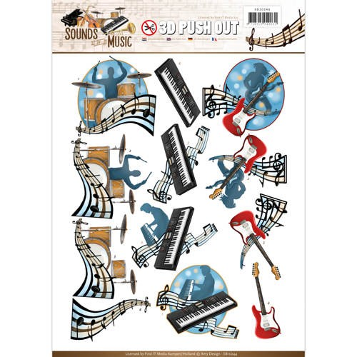 Amy Design - SB 10244 - Sounds of Music - Pop