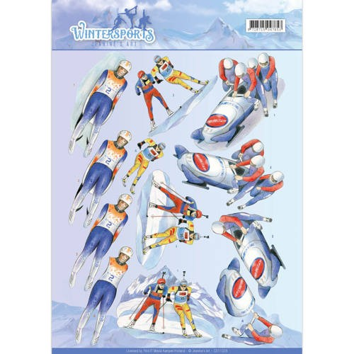 Jeanine`s Art CD 11028 - Wintersporten