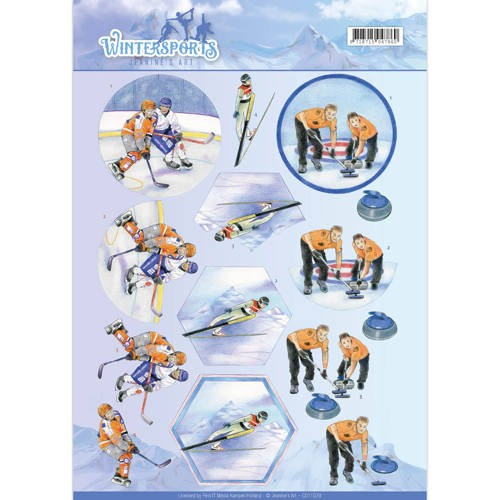 Jeanine`s Art CD 11029 - Wintersporten
