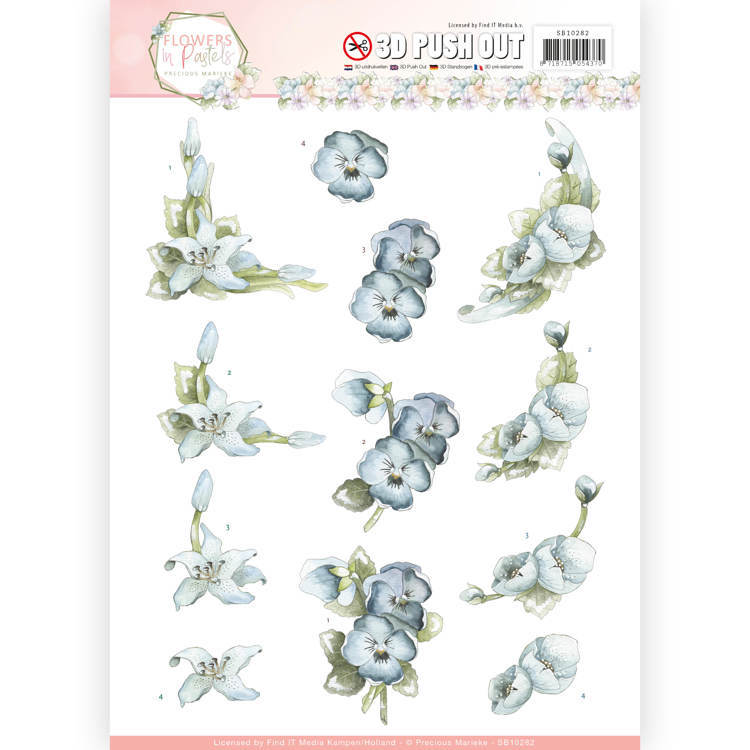 SB 10282 - Flowers in Pastels
