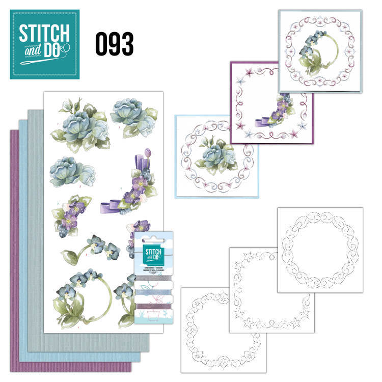 Stich & Do 093 - Winterflowers