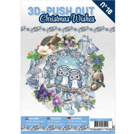 3-D Push Out Boek no. 18 - Christmas Wishes