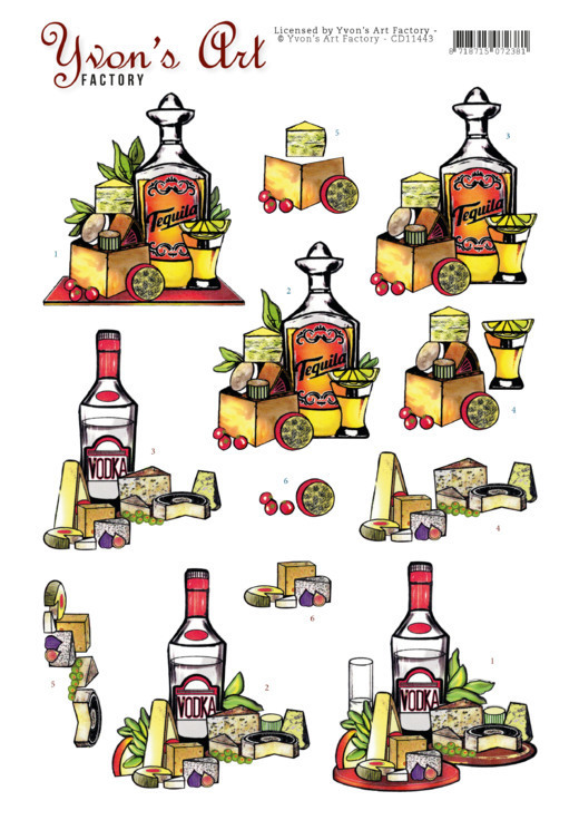 Yvon's Art Factory CD 11443 - Tequilla en Wodka