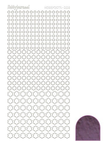 Hobby Dots - Sticker serie 008 - Mirror Violet
