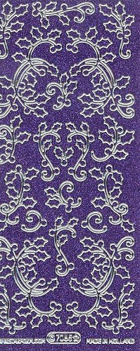 Starform 7085 Gekleurd Glitter Purple