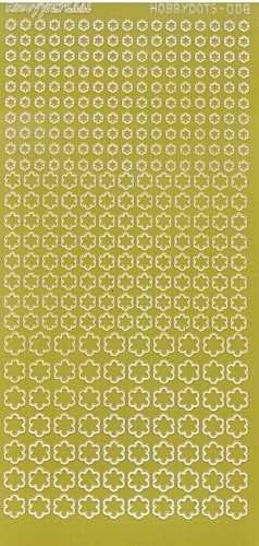Hobby Dots - Sticker Serie 008 Mirror Yellow