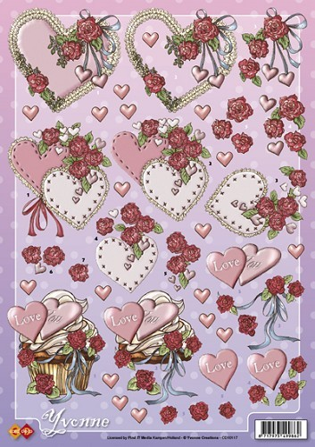 Card Deco CD 10117 - Yvonne